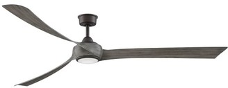 Pottery Barn Wrap Indoor/Outdoor Ceiling Fan, Matte Griege