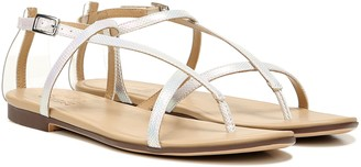 Naturalizer Multi-Strap Clear Thong Sandals - Tinsley2