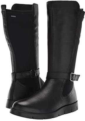 Ecco Bella GORE-TEX(r) Tall Boot (Black Cow Leather/Stretch) Women's Boots