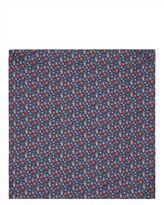 Jaeger Silk Floral Pocket Square