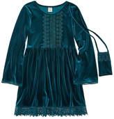Arizona Bell Long Sleeve Peasant Dress - Big Kid Girls