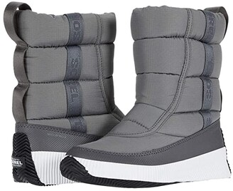 Sorel Out 'N About Puffy Mid (Quarry) Women's Cold Weather Boots