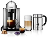 Nespresso VertuoLine Coffee and Espresso Machine with Aeroccino+ Milk Frother