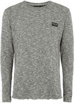 Nicce Grey Logo T-Shirt
