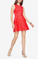 BCBGMAXAZRIA Ondina Floral Lace Dress
