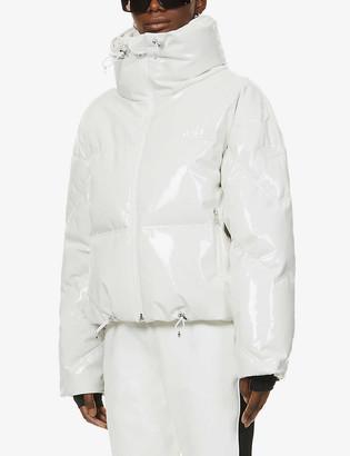 Cordova Mont Blanc funnel-neck PVC jacket