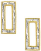 Women's Bony Levy Baguette Diamond Rectangle Stud Earrings (Nordstrom Exclusive)