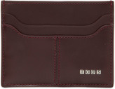 Tod's Metal Letters Leather Card Holder