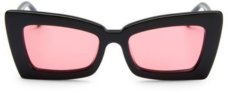 Cat Eye Zaap! 53MM Sunglasses