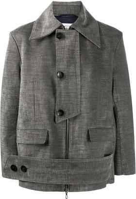 Namacheko Oversized Single-Breasted Coat