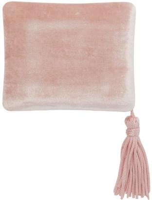 Sophie Bille Brahe Pink Velvet Jewelry Case