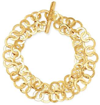 Ippolita 18K Yellow Gold Classico Hammered Link Bracelet