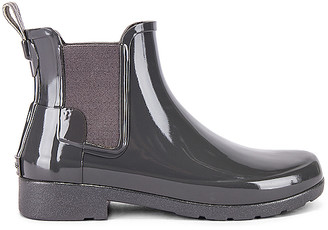 Hunter Refined Chelsea Gloss Bootie