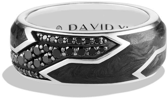 f226fe9b7d Mens Black Sapphire Rings - ShopStyle