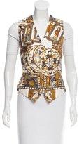 Hermes Silk Royal Court Vest