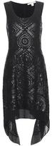 Diane von Furstenberg Nikkole Embellished Silk Dress