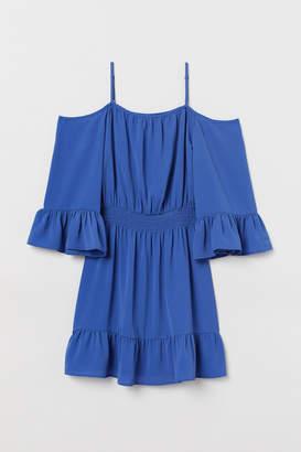 H&M Open-shoulder Dress