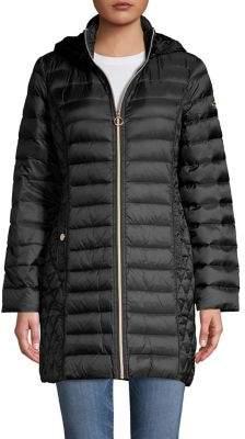Michael Kors Petite Quilted Puffer Coat