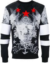 Philipp Plein Hansa sweatshirt - men - Cotton/Polyester/Polyurethane/Viscose - S