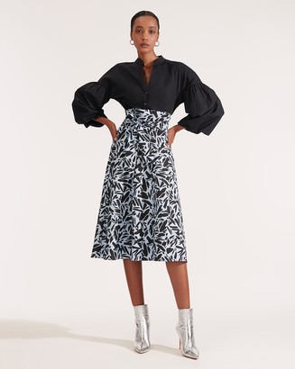 Veronica Beard Avi Midi Skirt
