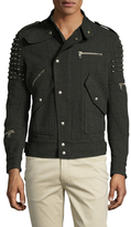 Diesel Black Gold Jallony Outerwear Caban Jacket