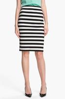 Vince Camuto Stripe Pencil Skirt