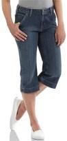 Carhartt Original Fit Cropped Denim Jeans (For Women)