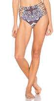 Ale By Alessandra Alto Boa Hi Waist Bottom in Gray. - size M (also in )