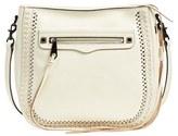 Rebecca Minkoff 'Regan Feed' Studded Bag - White