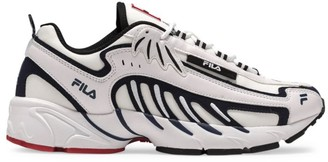 MSGM x Fila Mixed-Media Sneakers