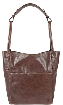 Frye Reed Hobo (Dark Brown) Hobo Handbags