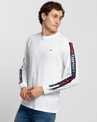 Tommy Jeans Long Sleeve Tape Tee