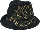 Le Chapeau printed hat