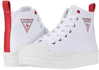 GUESS Bokan (White) Women's Shoes