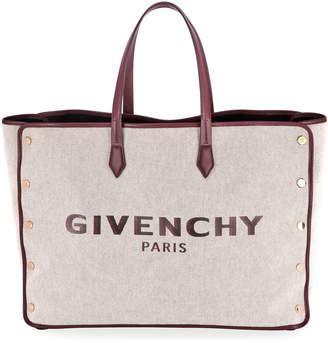 Givenchy Cabas Studs Medium Shopping Tote Bag