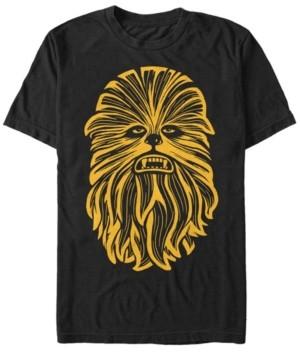 Star Wars Men's Classic Chewbacca Face Short Sleeve T-Shirt