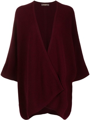 N.Peal Textured Cashmere Cardi-Coat