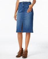 Earl Jeans Denim Pencil Skirt