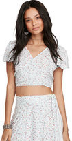 Denim & Supply Ralph Lauren Floral-Print Crop Top