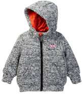 Ben Sherman Quilted Knit Hooded Sweater (Baby Boys)