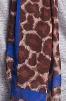 Marc by Marc Jacobs 'Leonora' Leopard Print Scarf