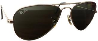 Ray-Ban Green Metal Sunglasses