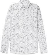 Prada Slim-Fit Printed Cotton-Poplin Shirt