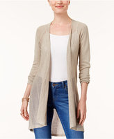 Style&Co. Style & Co Petite Pointelle Duster Cardigan, Created for Macy's