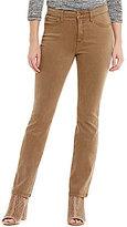 Jones New York Lexington Garment Dyed Stretch Denim Straight Leg Jeans