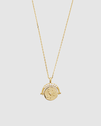 Wanderlust + Co Universe Gold Necklace