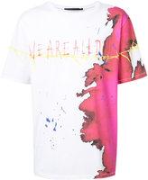 Haider Ackermann stain print T-shirt - men - Cotton - M