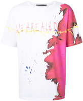 Haider Ackermann stain print T-shirt - men - Cotton - S