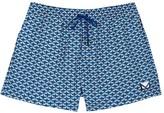 Fendi Blue Eye-print Swim Shorts