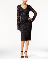 Rachel Roy Open-Back Lace Sheath Dress
